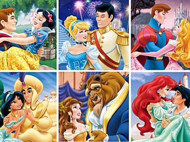 Qual casal da Disney você e seu namorado formam?