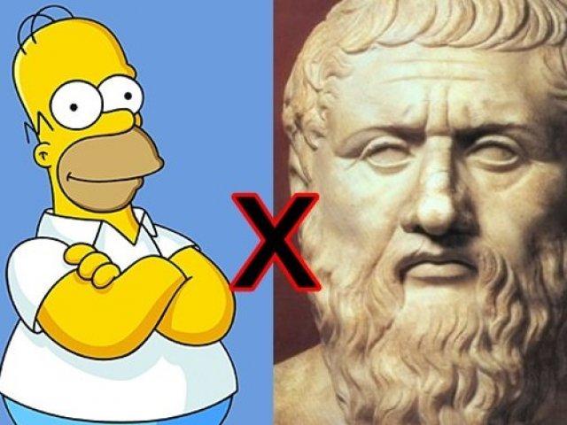 Homer Simpson ou Platão?
