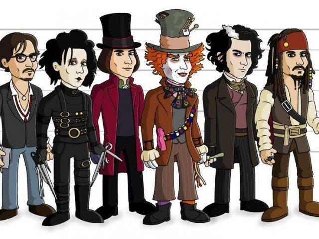 Qual personagem do Johnny Depp você seria?