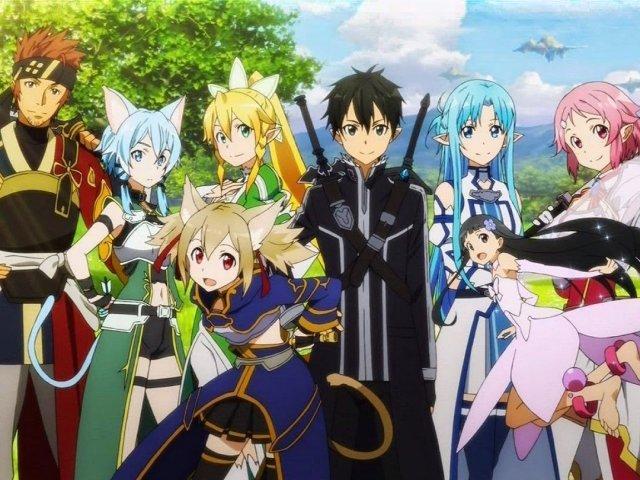 Qual personagem de Sword Art Online você seria?