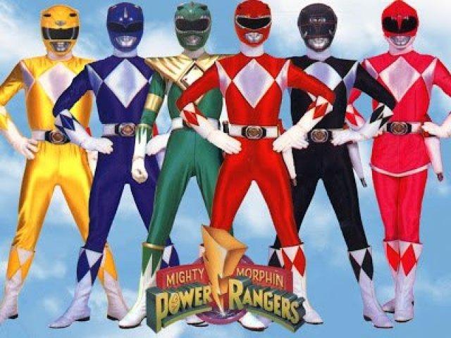 Qual Power Ranger você seria?