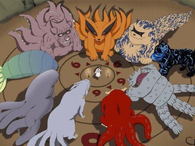Qual bijuu de Naruto você seria?