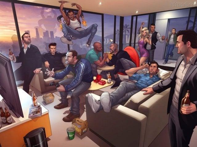 Quem você seria em GTA?