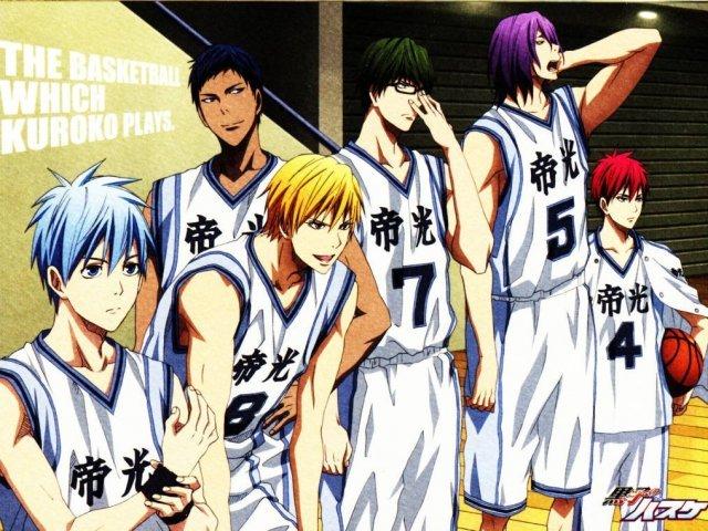 Kuroko no Basket: Quem você seria da Geração dos Milagres?