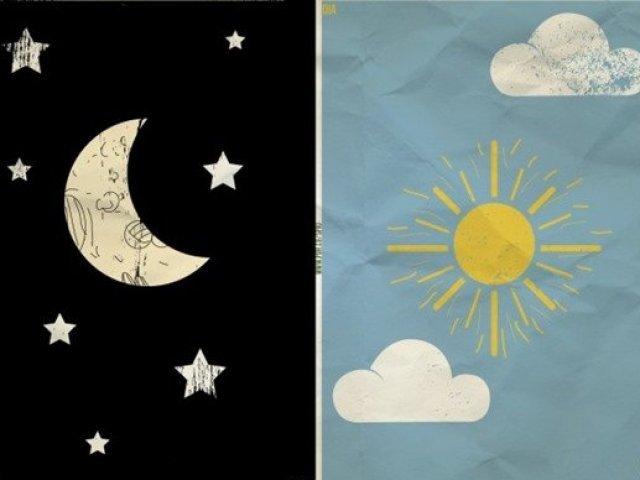 Você combina mais com o dia ou com a noite?