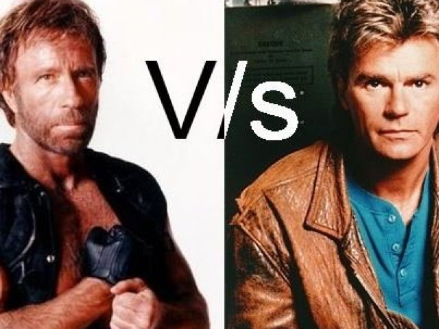 Você é mais Chuck Norris ou Macgyver?