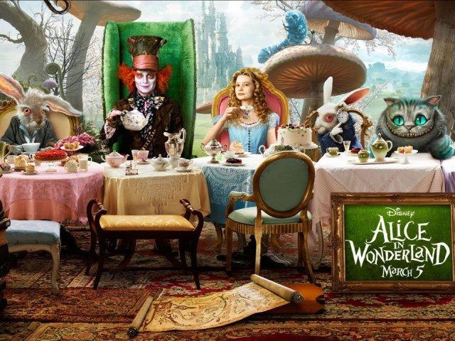 """Quem você seria no filme """"Alice no País das Maravilhas""""?"""