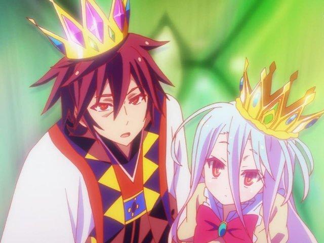 Resultado de imagem para sora e shiro