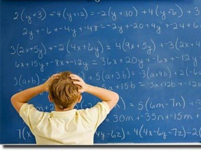 O quão bom você é em matemática?