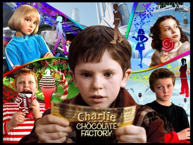 Quem você seria em ''A FANTÁSTICA FABRICA DE CHOCOLATE''?
