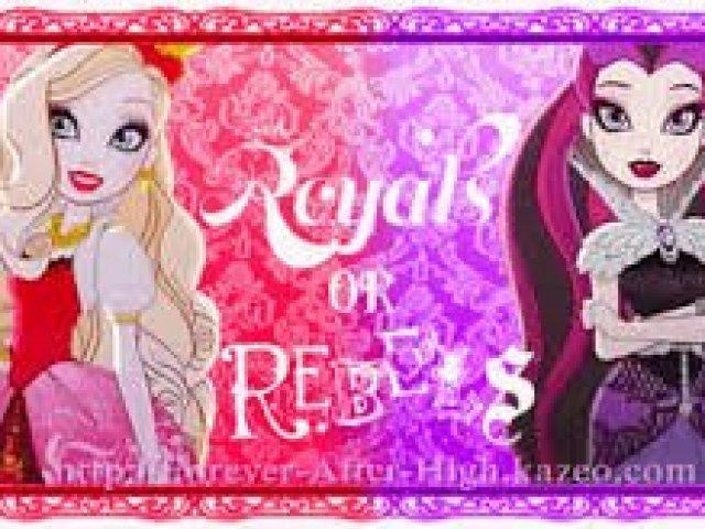 Você é Royal Ou Rebel Quizur