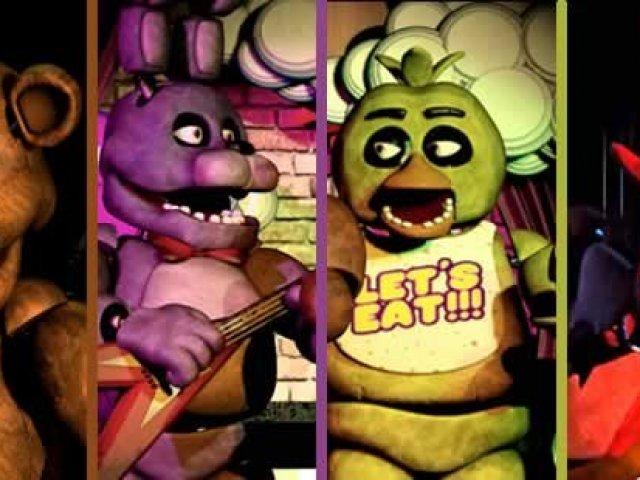 Qual animatrônico de Five Nights at Freddy's você é?