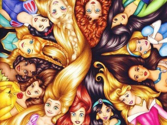 Que princesa da Disney você é?