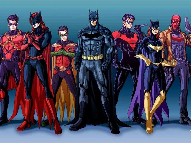 Quem você seria na Bat–Família?