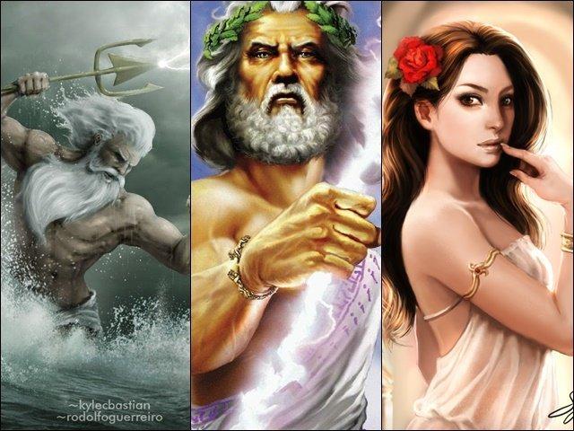 Qual Deus grego(a) é seu pai/mãe?