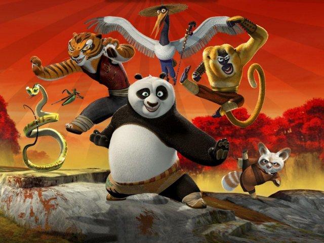 Kung fu panda: Quem você seria dentre os 5 furiosos?