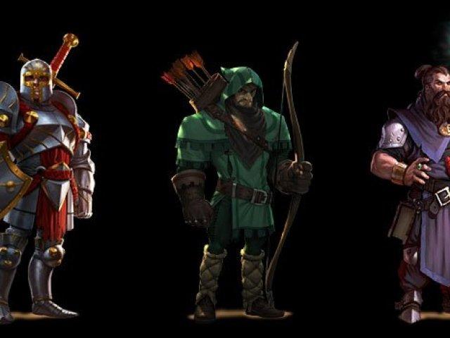 Você é um arqueiro, um mago ou um guerreiro?