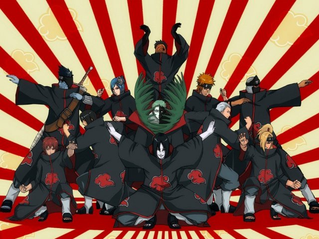 Qual personagem da Akatsuki você seria?