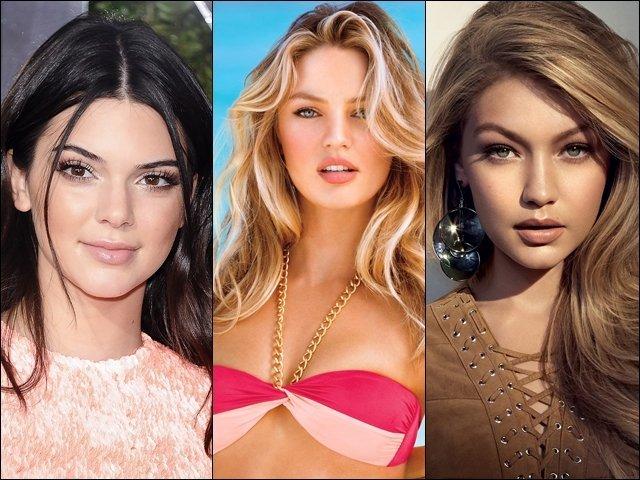 Com qual super modelo você se parece?