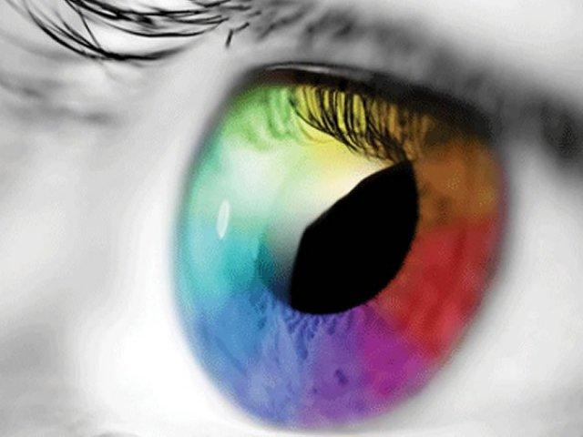 Qual seria a cor do seus olhos?