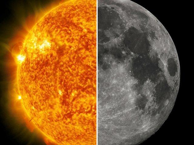 Você é mais o sol ou a lua?