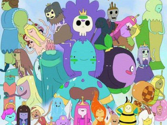 Qual princesa de Hora de Aventura você seria?