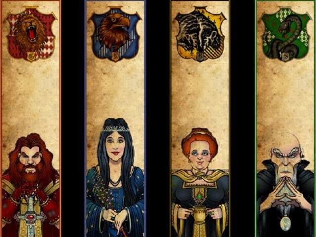 Rowena Ravenclaw And Godric Gryffindor