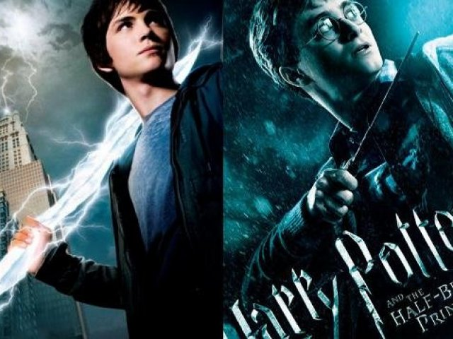 Você é mais Harry Potter ou Percy Jackson?
