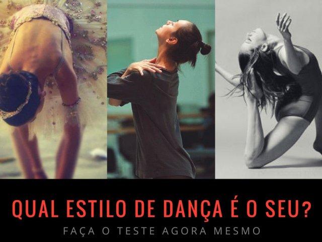 Qual estilo de dança é o seu?