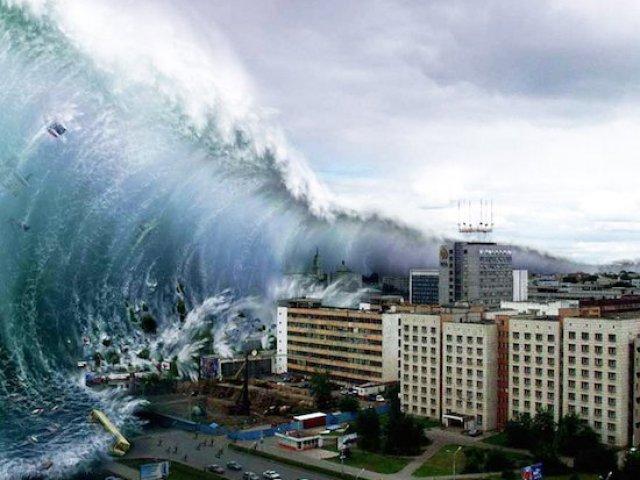 Você sobreviveria a um tsunami?