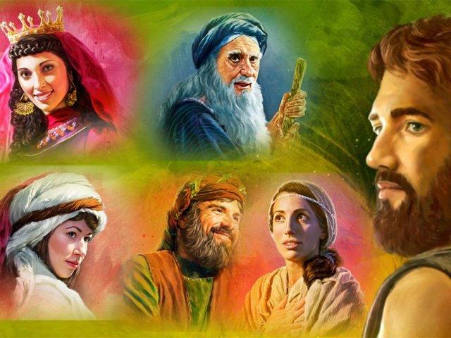 Com qual personagem bíblico você se parece?
