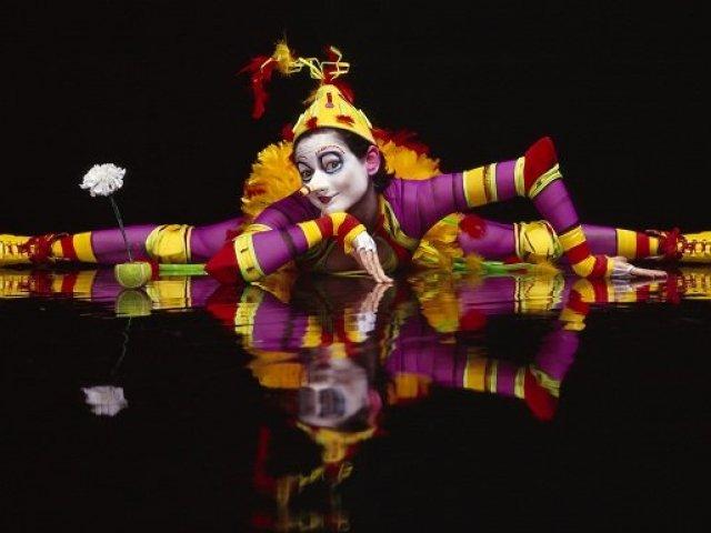 Quem você seria no Circo do Soleil La Nouba?