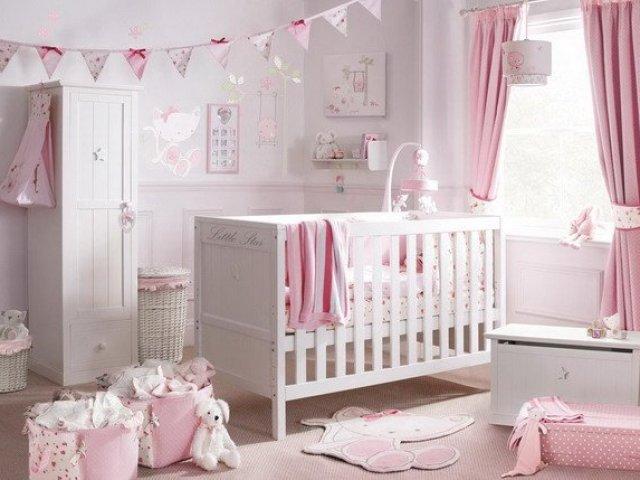 Como seria o quarto da sua bebê?