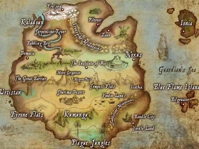 De qual reino de Valoran você pertence?