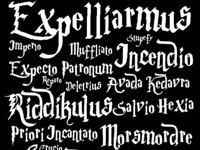 Você sabe para que serve cada um desses feitiços de Harry Potter?