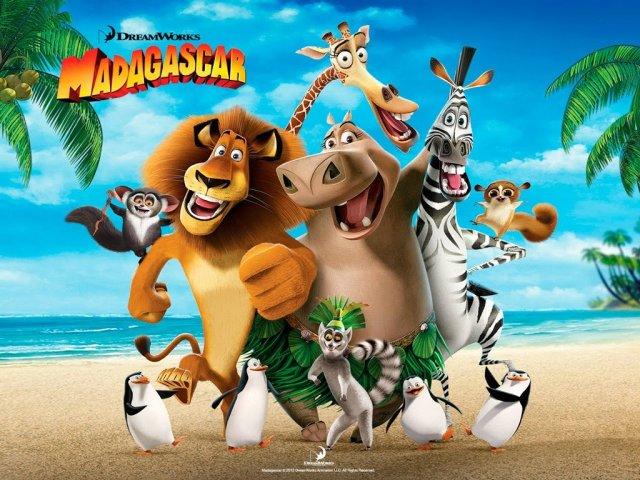 Quiz sobre o filme Madagascar.