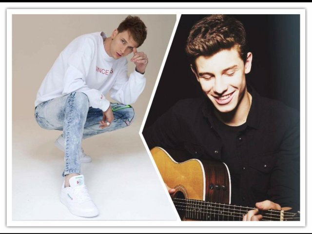 Você é mais Shawn Mendes ou Machine Gun Kelly?
