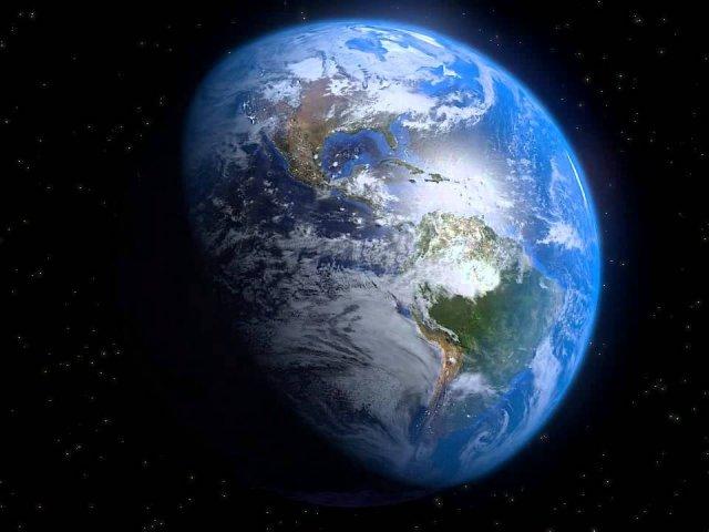Nosso planeta e em volta dele.