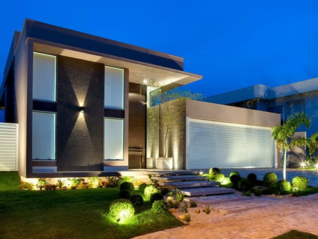 Que casa dos sonhos perfeita pra voc quizur for 30 fachadas de casas modernas dos sonhos