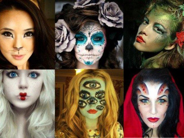 Qual maquiagem pro Halloween você deveria usar?