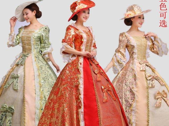Como seria seu vestido Medieval?