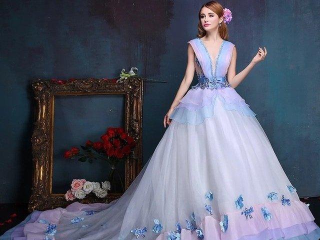 Como será seu vestido de baile?