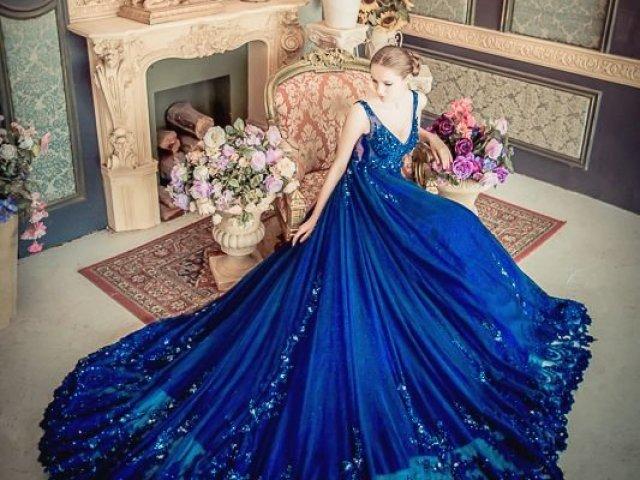 Como seria seu vestido de Realeza?