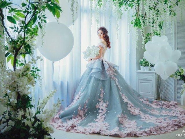 Como seria seu vestido de contos de fadas?