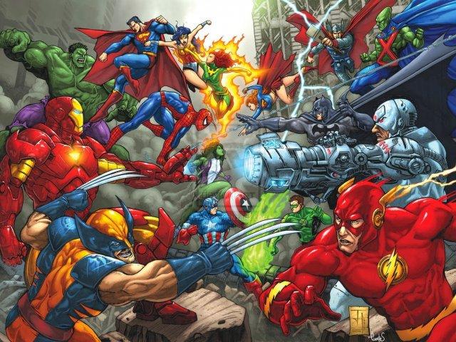 De qual equipe de super heróis ou vilões você participaria?