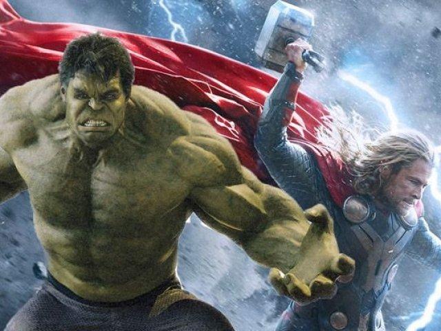 Você é mais Thor ou hulk?