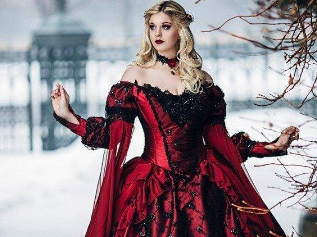 Como seria o seu vestido de princesa medieval?