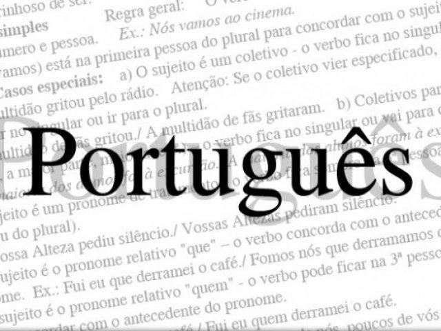Teste de Português