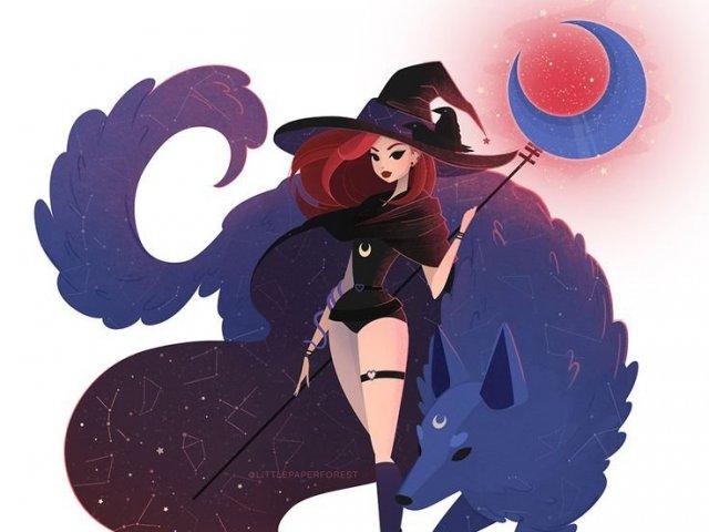 Que tipo de feiticeira seria você?