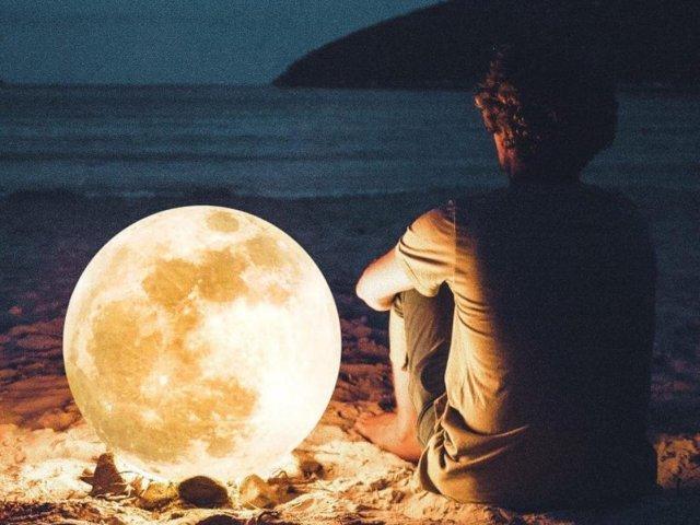Qual fase da lua lhe guia?